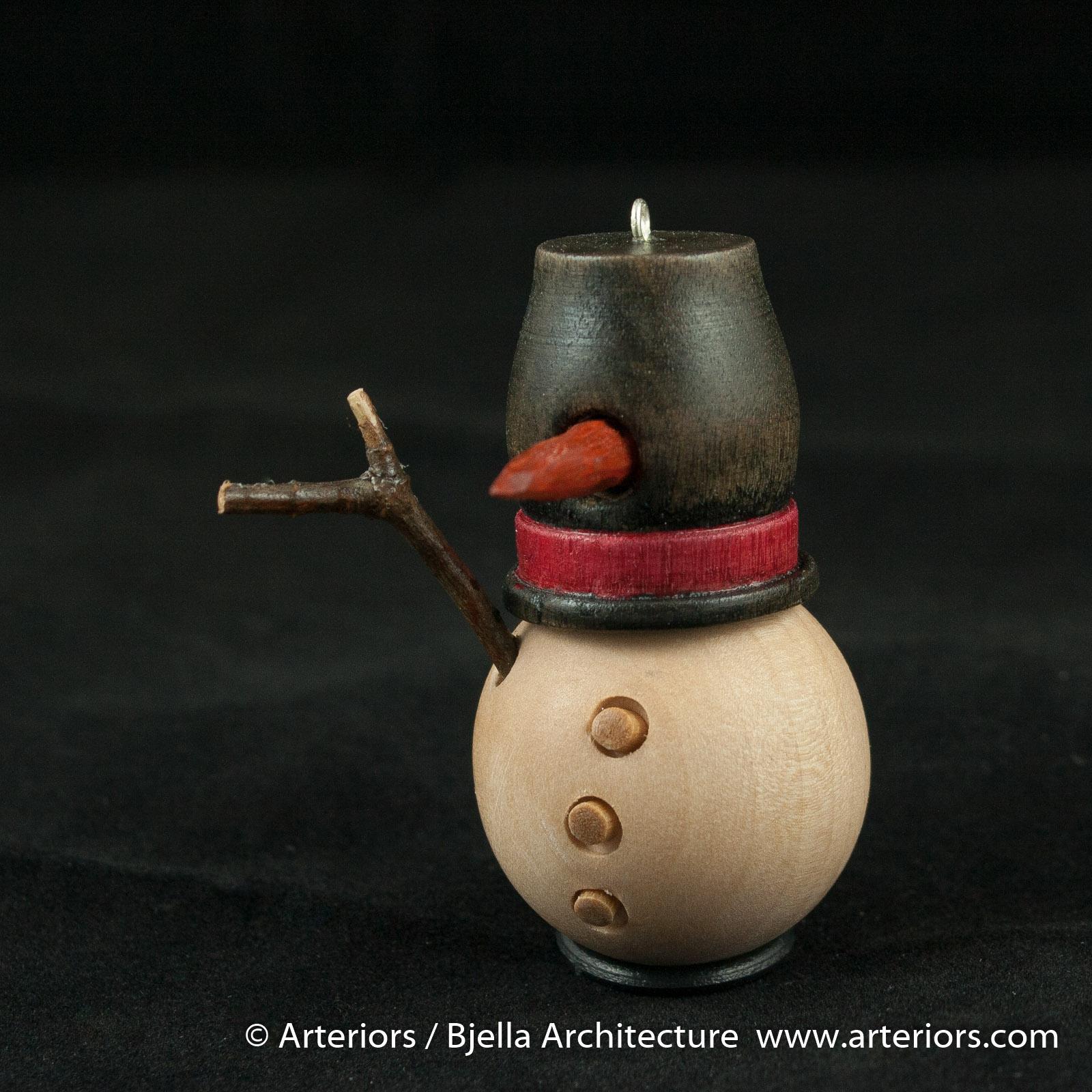 Bjella Snowman Ornament - Day 9 - Cutesy-28