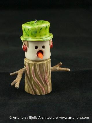Bjella Snowman Ornament - Day 9 - Cutesy-30