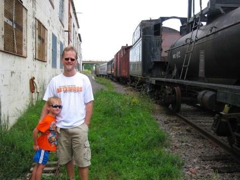 Bjella Family at Trainyard-1