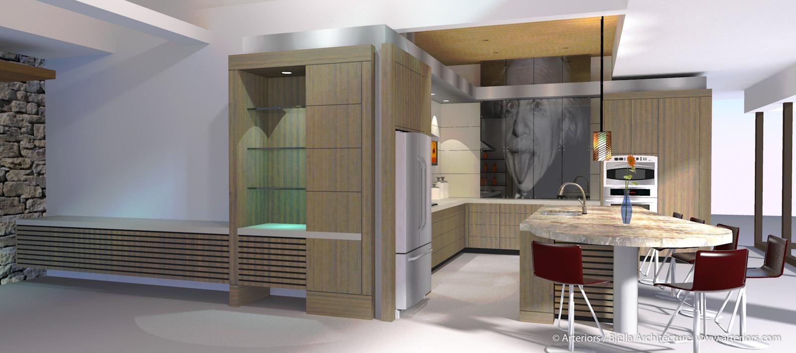 Modern Marco Island Florida Kitchen by Arteriors Architecture