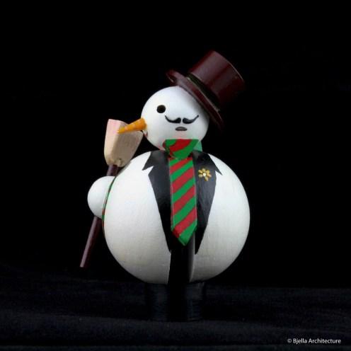 First Snowman Ornament by Tim Bjella-5