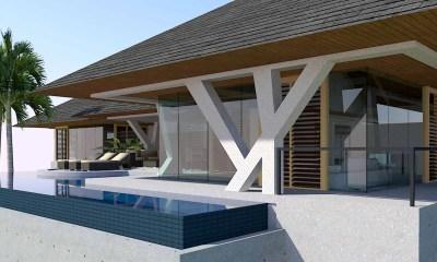 Modern Glass Home Design in Kauai, Hawaii by Bjella Architects