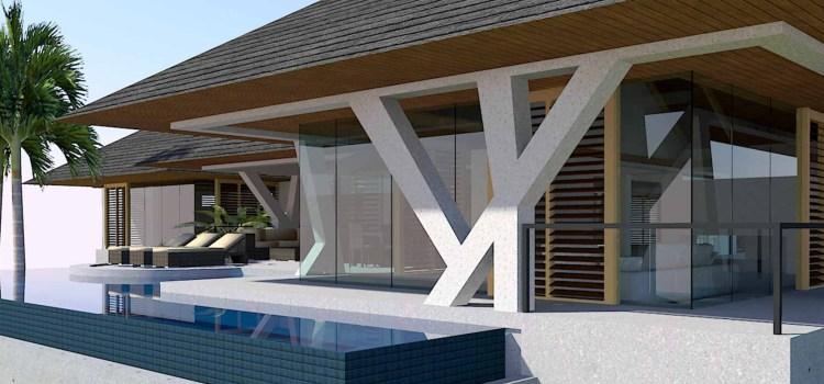 Modern Glass House Design in Kauai, Hawaii by Bjella Architects