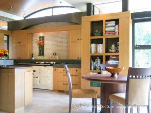 Modern Kitchen Design by Bjella Architecture