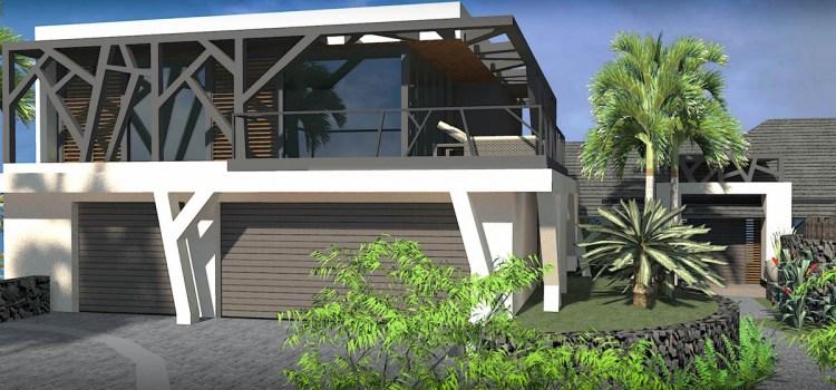 Modern Tropical Glass Home in Kauai, Hawaii by Bjella Architects