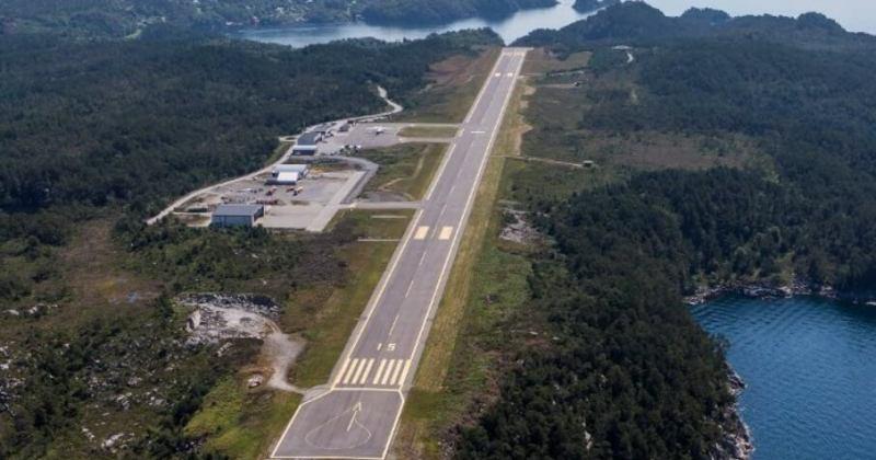 Bilete av ei lufthamn