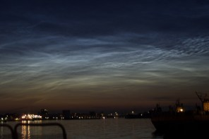 Skyen over Københavns Havn. Foto: Jasmina Nielsen