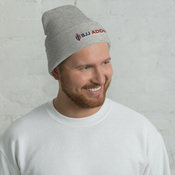 BJJ Cuffed Beanie - Brazilian Jiu-Jitsu Addicts 1