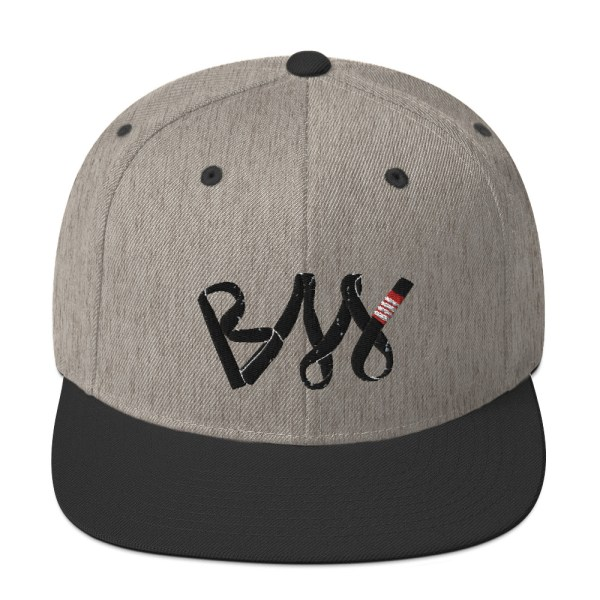 BJJ Snapback Hat BJJ Black belt 2
