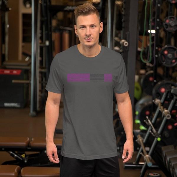 Show Your Rank By BJJ Short-Sleeve T-Shirt Brazilian Jiu-Jitsu BJJ Purple Belt – BJJ Submission 3