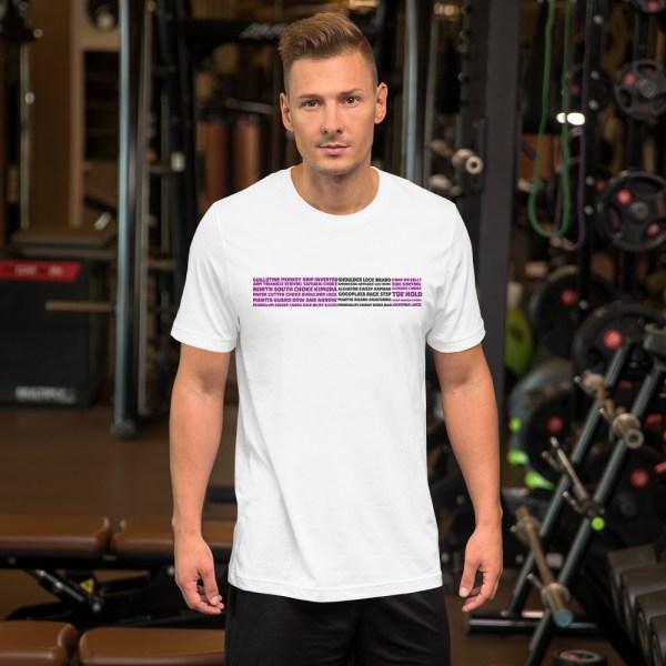 Show Your Rank By BJJ Short-Sleeve T-Shirt Brazilian Jiu-Jitsu BJJ Purple Belt – BJJ Submission 1