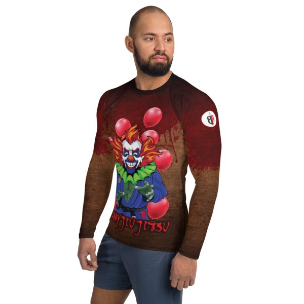 BJJ Men's Rash Guard The scariest Clown - IT 3