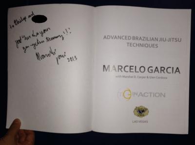 Marcelo Garcia Autograph