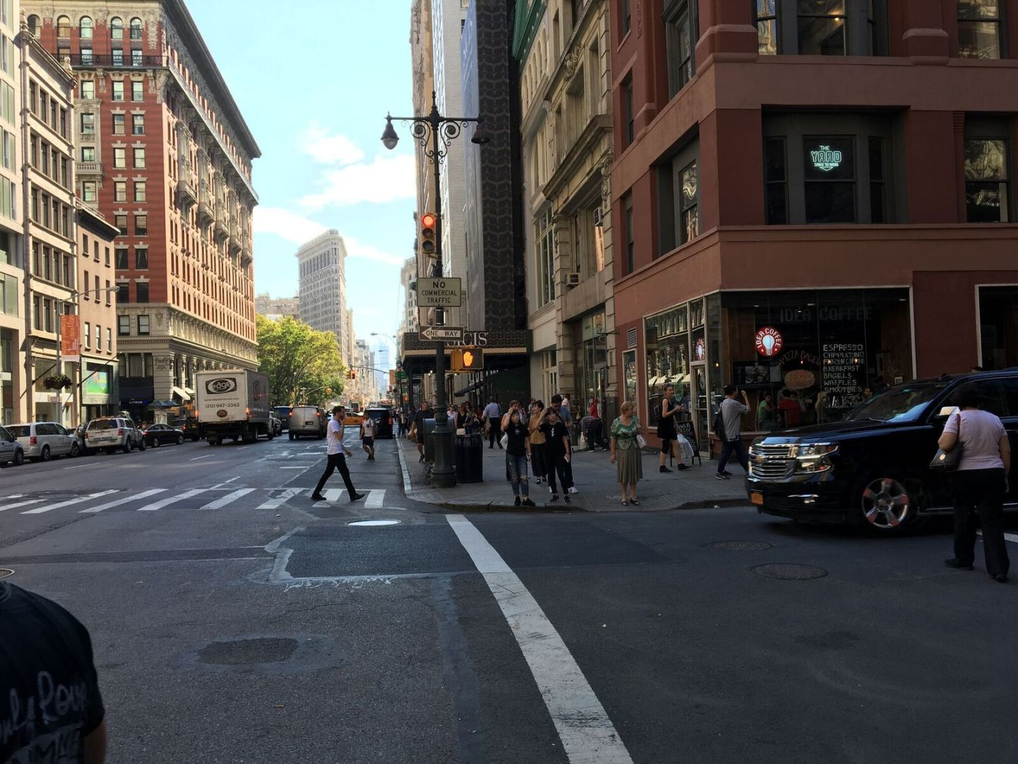 Flat Iron Building, Mid-Day, photo by B.J. Mendelson