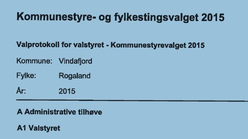Tala bakom tala i Vindafjord