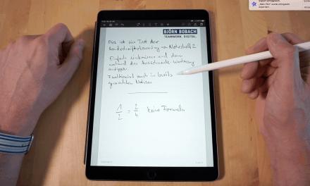Noteshelf 2: Die neue Handschrifterkennung im Test