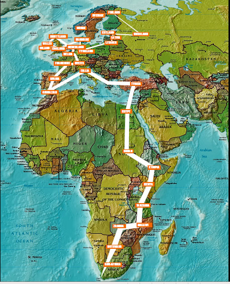 afrika-kartet
