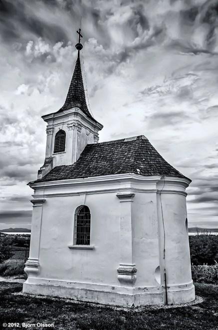 Church outside Balatonlelle in Hungary