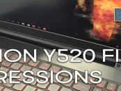 Lenovo Legion Y520 Gaming Laptop Unboxing & First Impressions