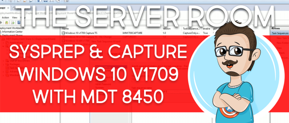 Sysprep and Capture MDT 8450