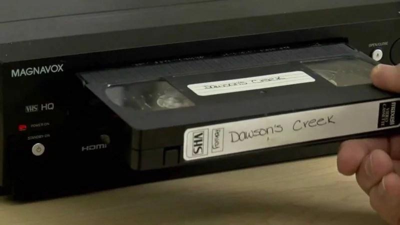 VHS video player childhood