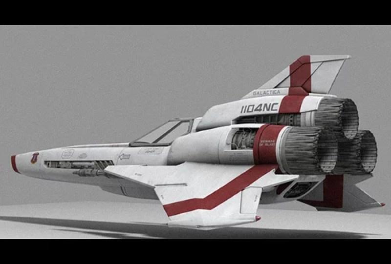 bsg-viper-2 battlestar galactica TV childhood