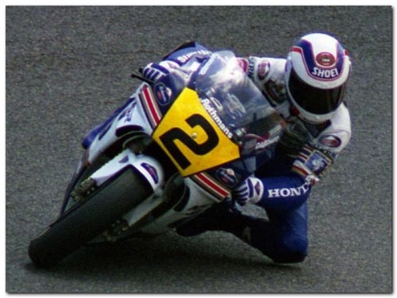 Rothmans Honda grand prix superbike motorcycle
