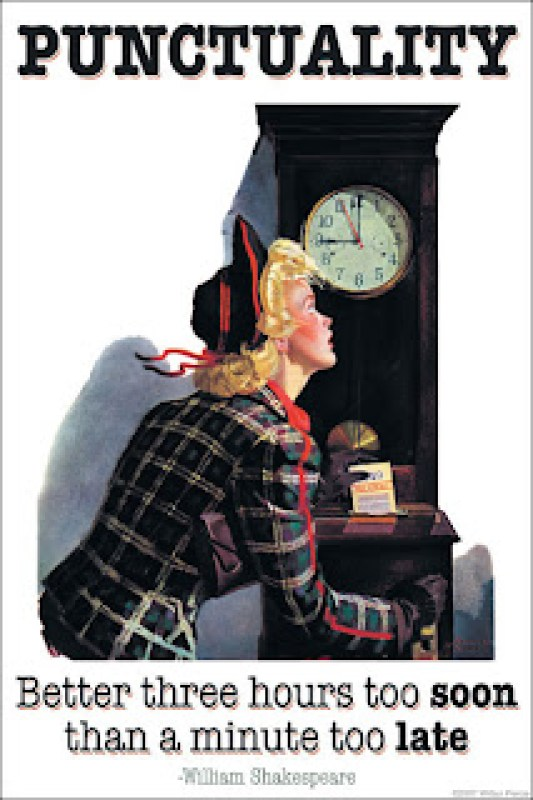 Punctuality Time Management