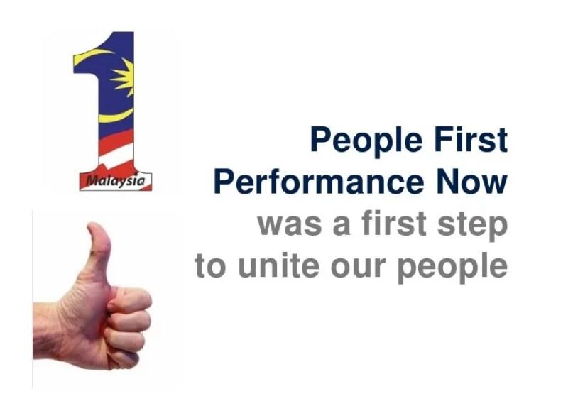 slogan najib civil servant