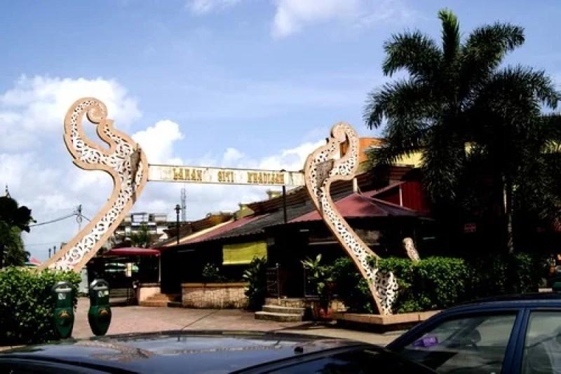 kota bahru kelantan Siti Khatijah Market