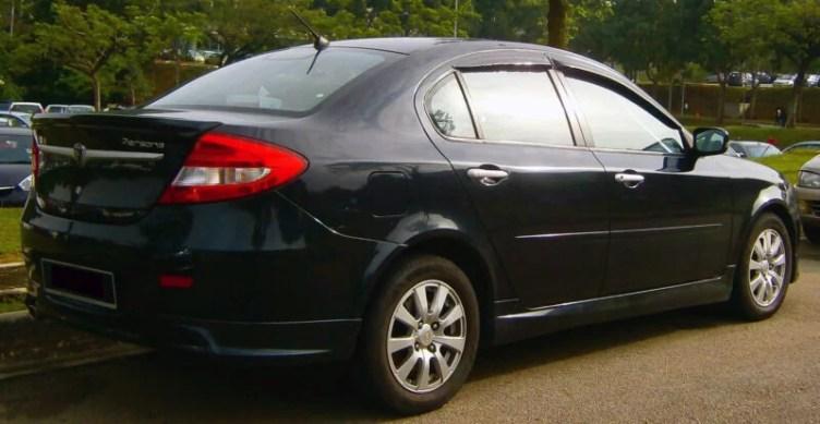proton personal elegance car