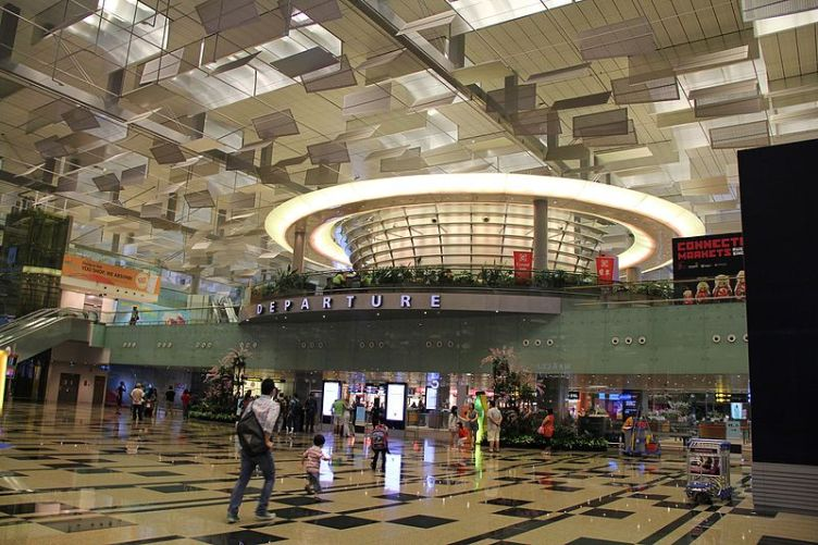 Changi airport delayed flight