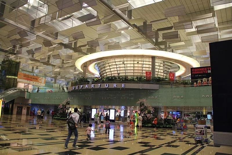 Changi airport delayed flight