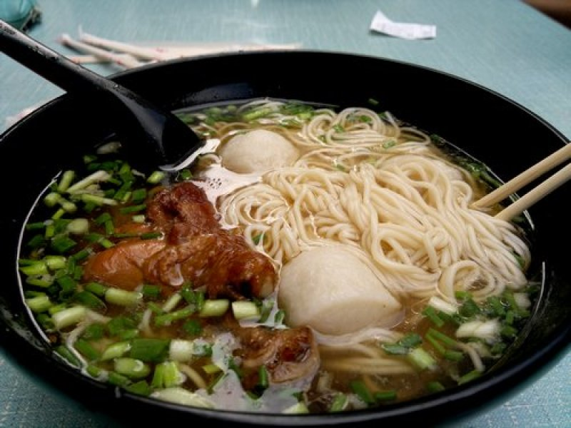 food safety noodles soup Chinese nice