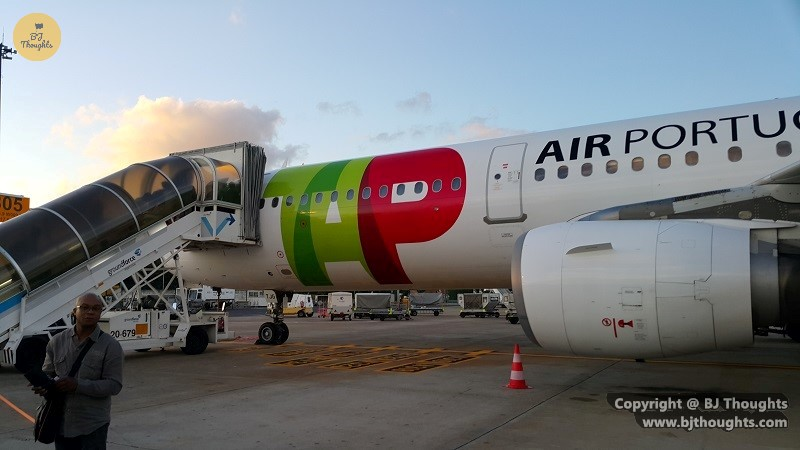 cape verde tap air portugal lisbon flight