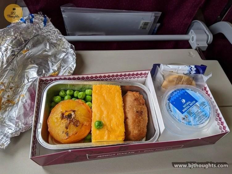 inflight meal MAS flight cambodia