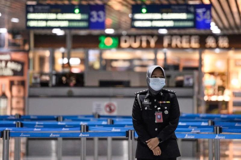 KLIA Immigration Cambodia Travel Flight