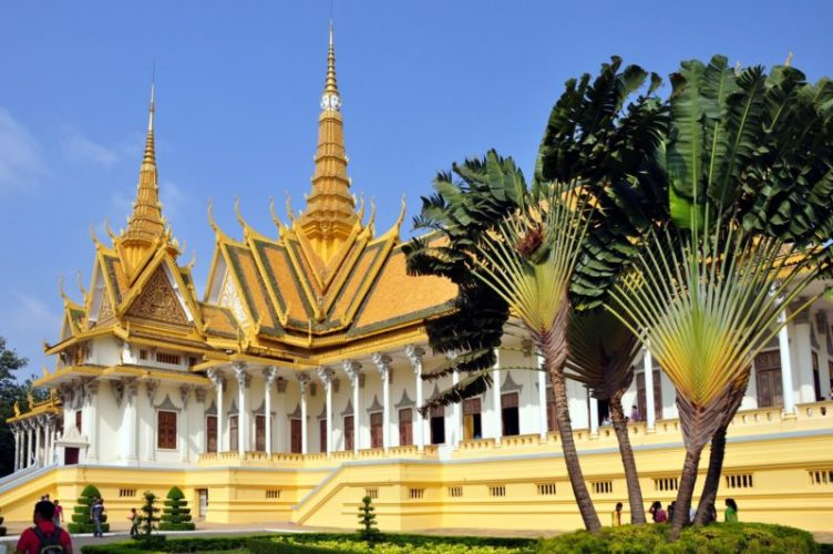 Royal Palace Cambodia Phnom Penh Travel