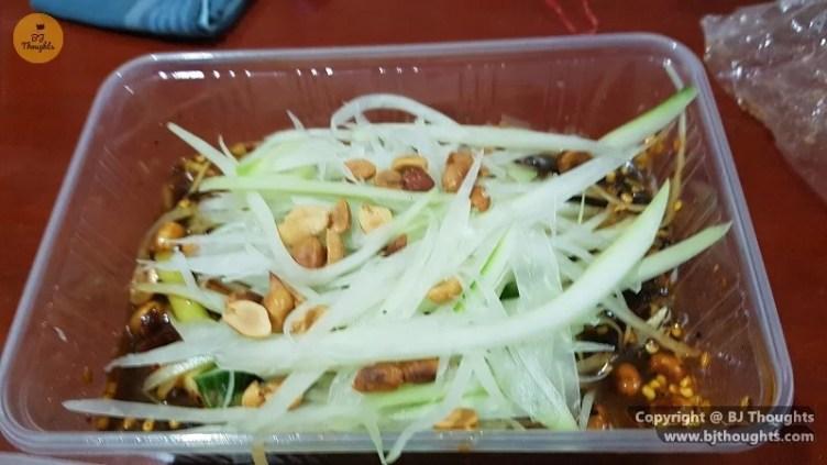 papaya salad thai cambodia food foodpanda