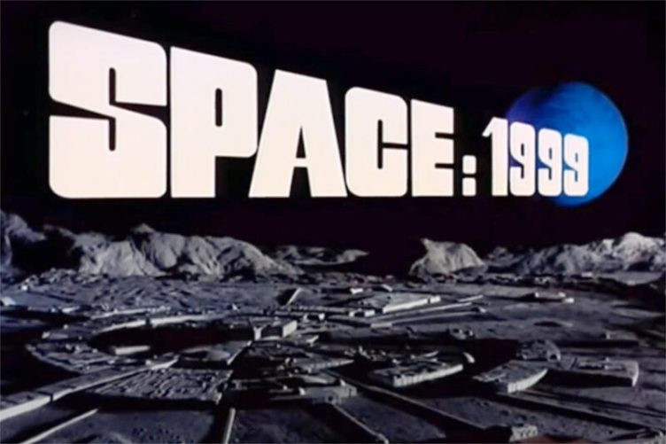 Moonbase Space 1999 TV Shows 1970 Science Fiction Eagle Spacecraft