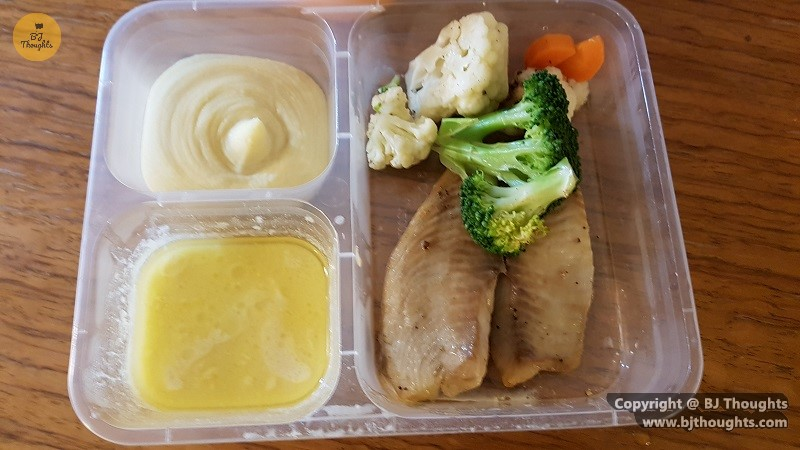 western food lunch mashed potatoes fish