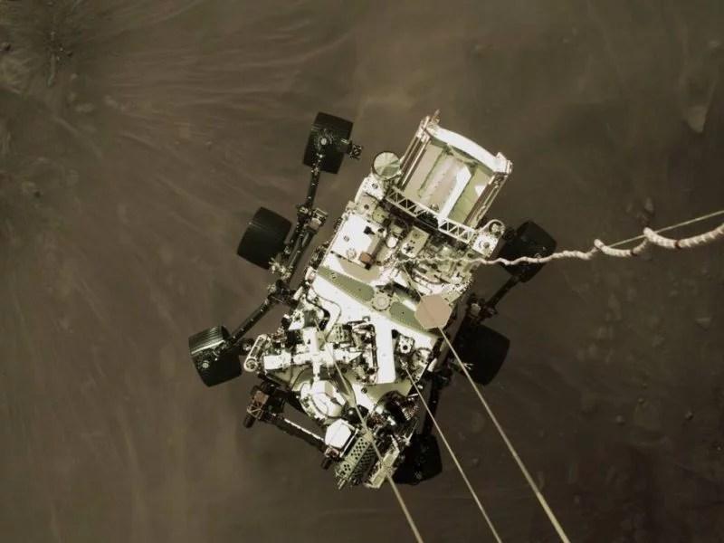 Perseverance Mars Unity Space NASA