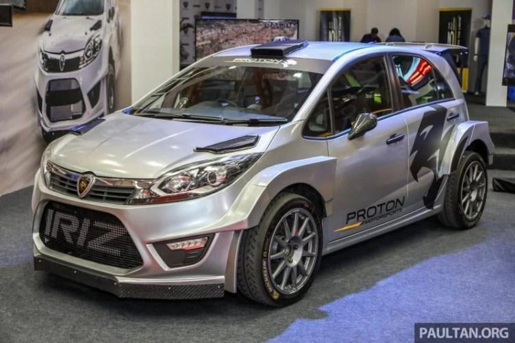 Car Proton Iriz R5 Rally