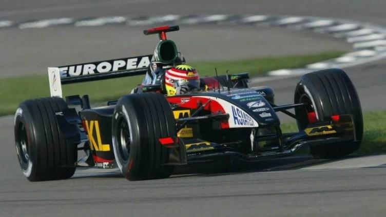 Minardi Formula One Alex Yoong Malaysia Motorsport