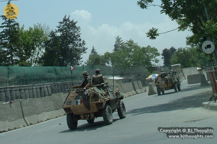 French Kabul Military