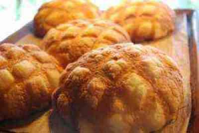 ジャンボメロンパン(花月堂)