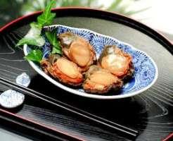 あわびの煮貝