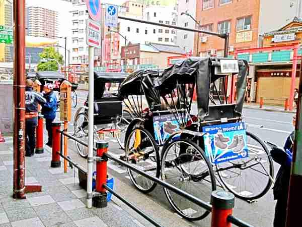浅草の街を走る人力車を楽しむ為の5つのポイント