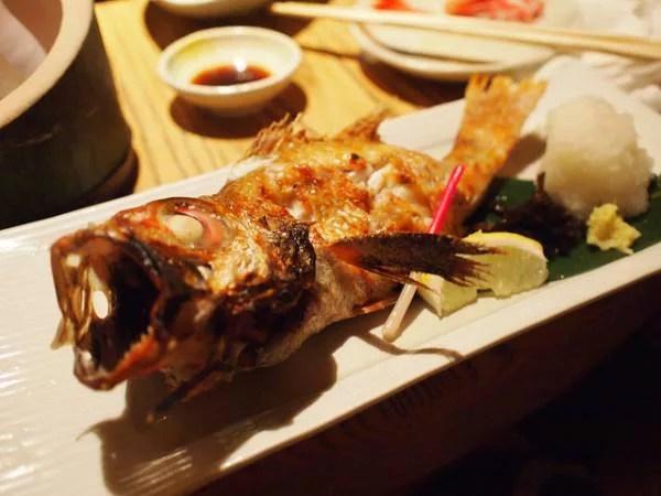 金沢名物グルメ③北陸を代表する高級魚!のどぐろ