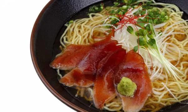 鹿児島の郷土料理⑤ご当地で食べるなら!まぐろラーメン